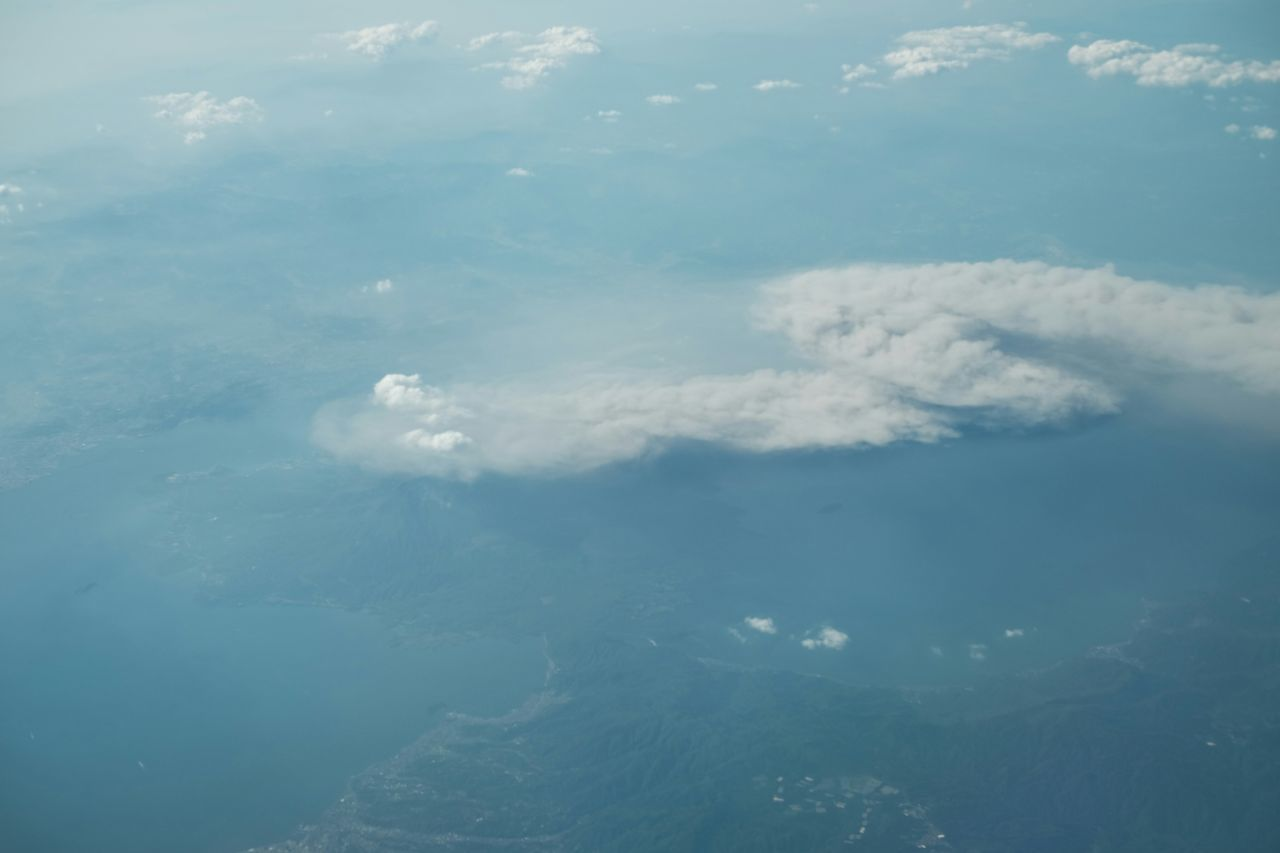 From the plane Volcanoes 桜島 Sakurajima Sakurajima Mount Sakurajima 桜島 Fujifilm_xseries Fujifilm Fujifilm X-E2 Fujixe2 飛行機からの写真 火山 Picturefromplane Picturefromabove Picturefromairplane j Japan From An Airplane Window