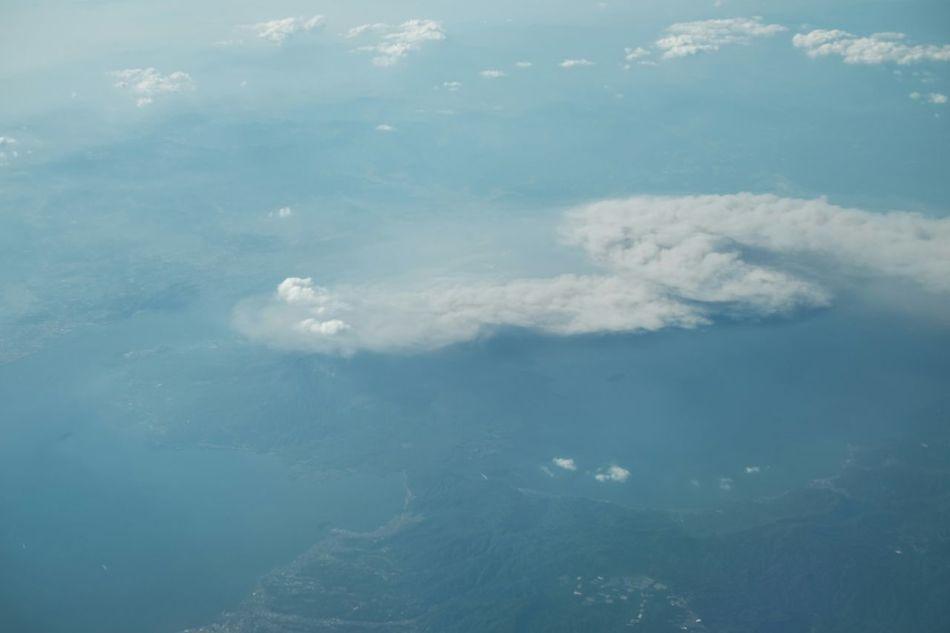 From the plane Volcanoes 桜島 Sakurajima Sakurajima Mount Sakurajima 桜島 Fujifilm_xseries Fujifilm Fujifilm X-E2 Fujixe2 飛行機からの写真 火山 Picturefromplane Picturefromabove Picturefromairplane j Japan From An Airplane Window