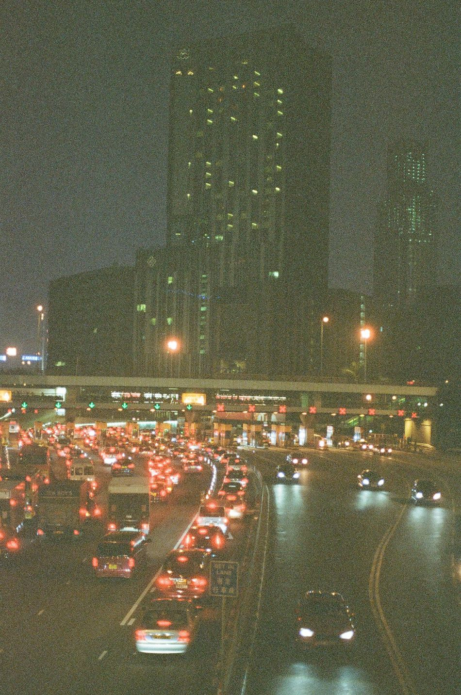 Light make the city bright. Illuminated Night HKG HongKong Dayandnight Cars Road Daily Streetphotography Darkness And Light Filmphotography Filmcamera