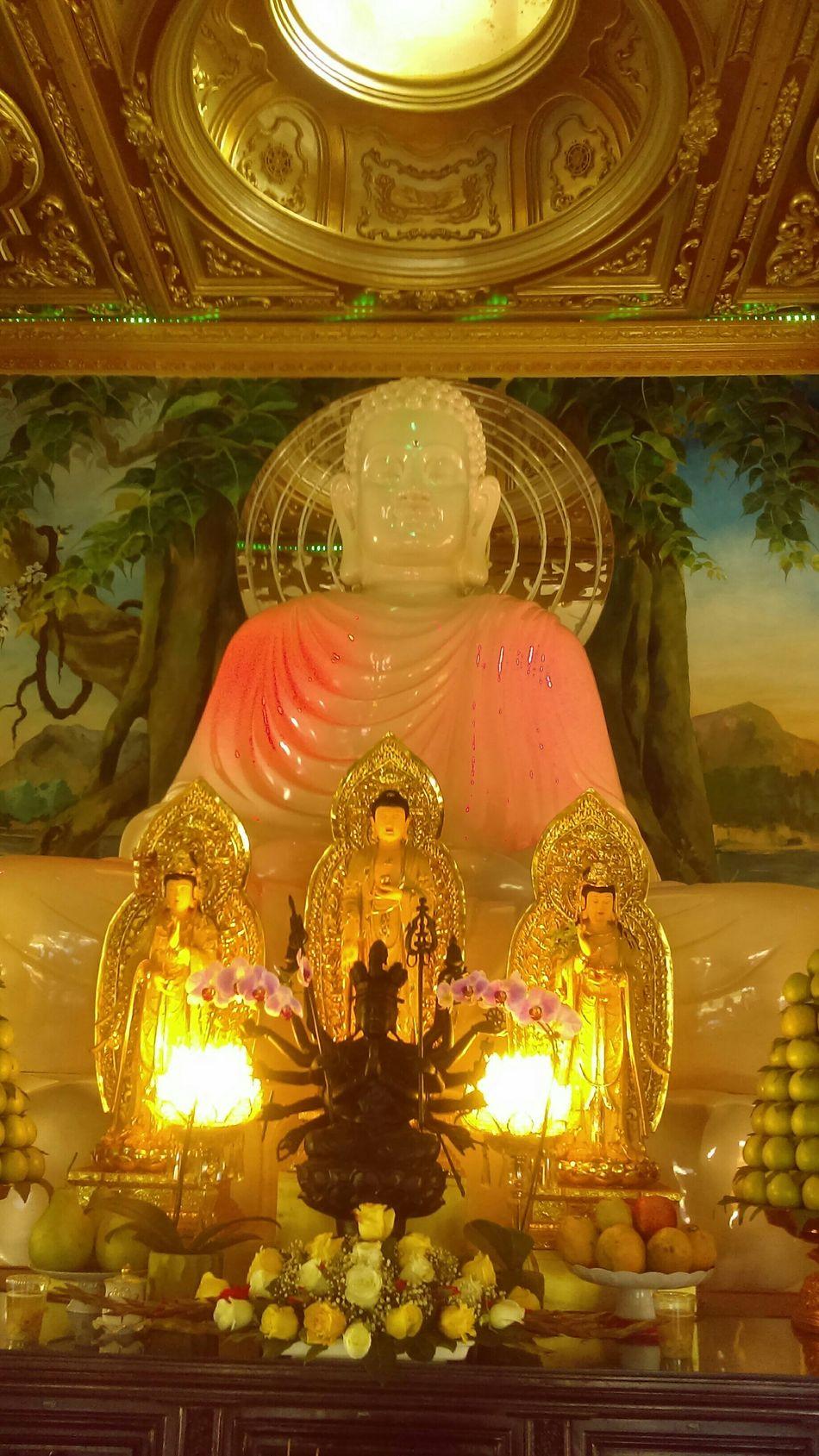 Altars Vietnamese World Famous Hue Quang temple altar
