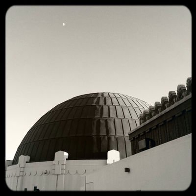 Griffith Observatory in Los Angeles by Jaxxierb
