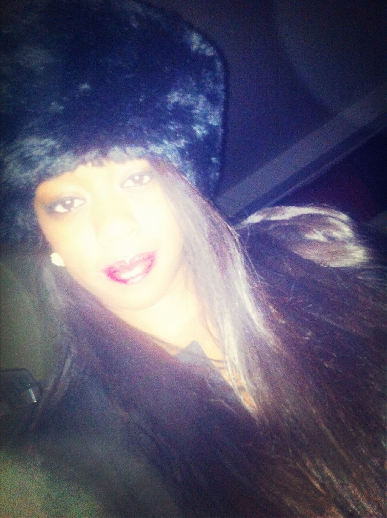 Mink Hats & Long Hair
