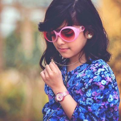 Enjoying Life Cute Kids Portrait