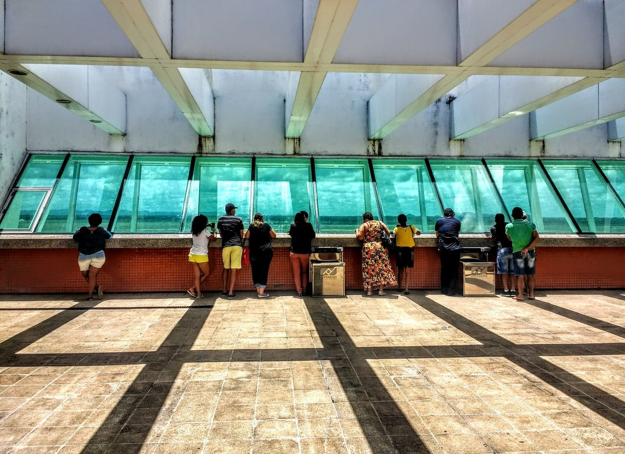 Real People Lifestyles Architecture Aeroport ✈ Céu Azul. Indoors  Outdoors Cloud - Sky Aeroport Aviation Indoors  Saudades Sole...☀ Reflection
