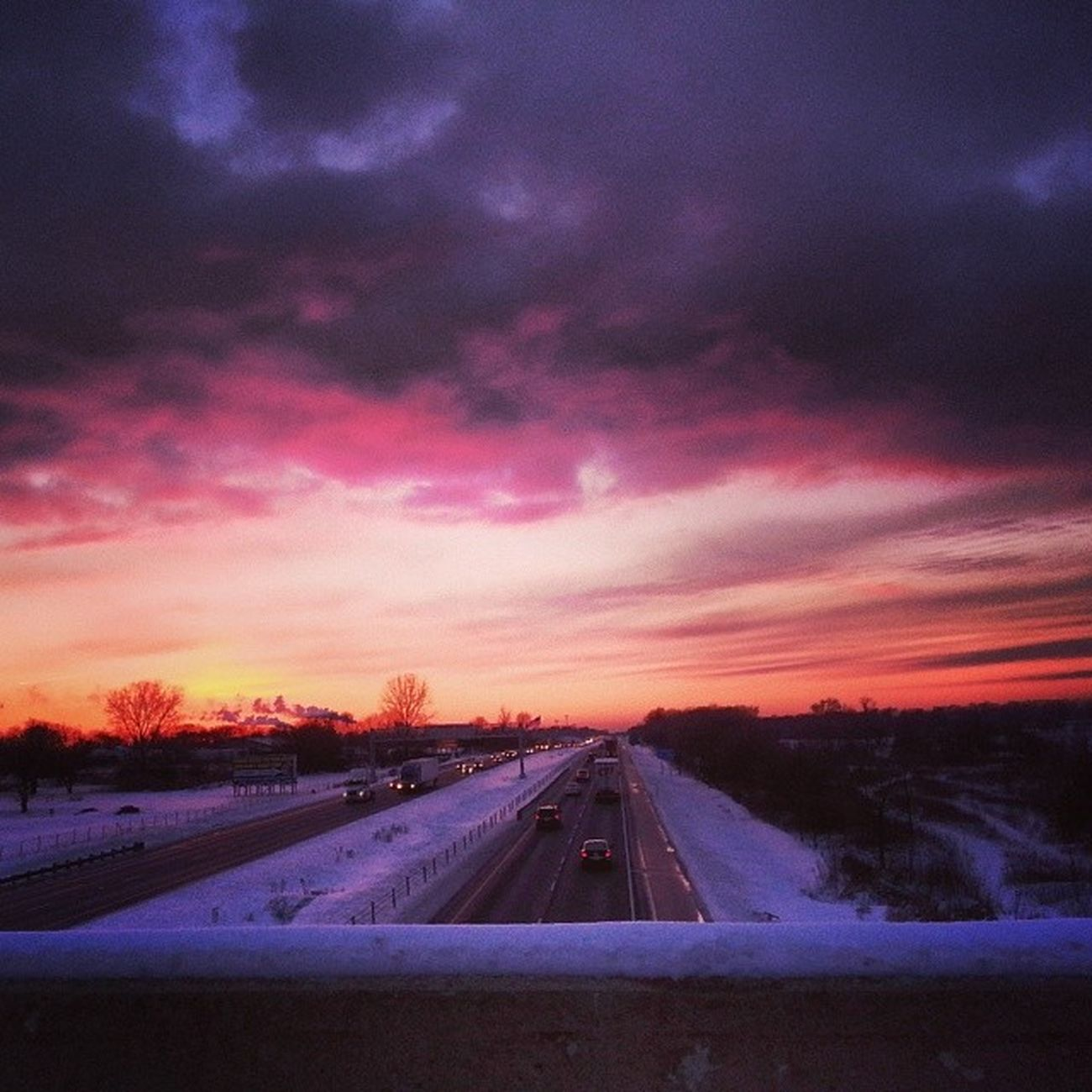 Illinois , Channel7news , Sunset , Snow , viewbug, dontjump, peace, jule, joliet, bridge I80, highways, tracyjule, tracyj2472, alone, totheworldyoumaybeone, theweatherchannel, tlc, sunset, skyporn,chicagonews, foxchicago
