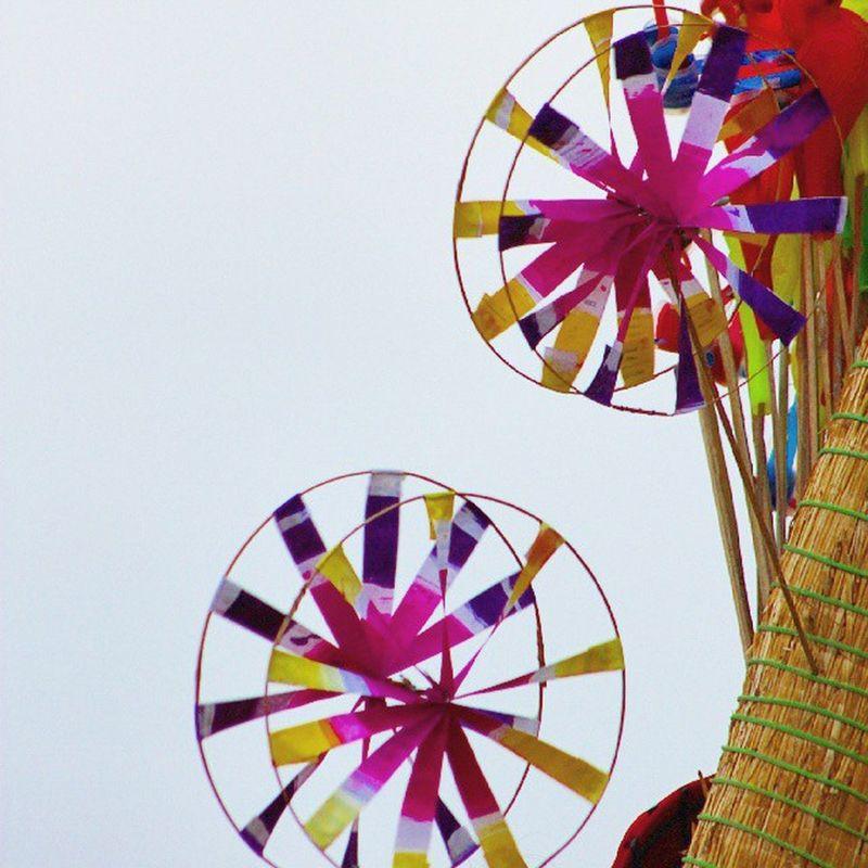 The Pinwheels at Shankumugham Beach ... I bought one... 👍👌.. Trivandrum Kerala Chennai Coloursplash India Mumbai