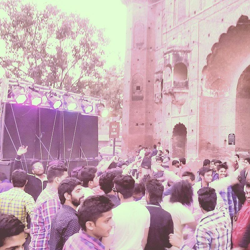JAI JAI🙏 BHOLE JAI SHIV SHANKR Shiv_ratri Enjoyfull Bhaang Todyz Naach Cll Dance Festv Festv Cong .. Patiala 😺 😉