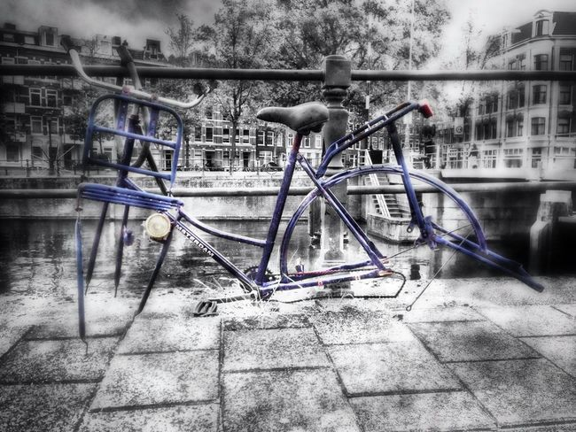 """#2! Could make a looong collection of those in Amsterdam... Cities_collection EyeEm Best Edits """"bike Weak"""""""