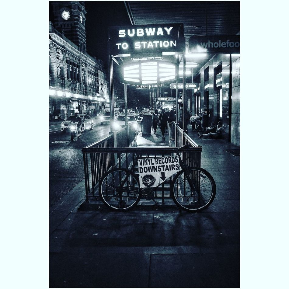 Flinders St #Melbourne Subway Station Antique Blackandwhite Streetphotography Welcome To Black