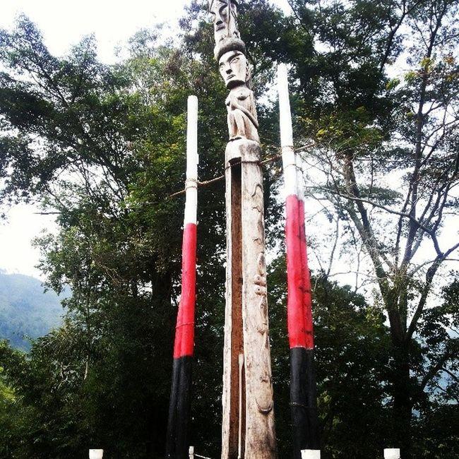 Tungtung Statue Batak  Toba TOBALAKE Travel runaway sumut SUMATRA Indonesia
