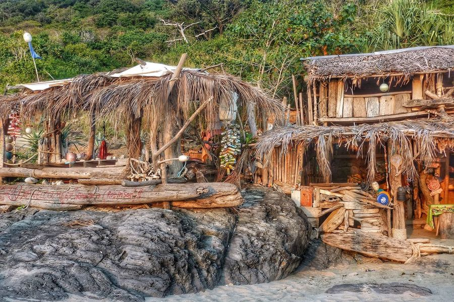 Beach Bar in Koh Lanta Thailand Relaxing EyeEm Best Shots Island Life The Week Of Eyeem Eye4photography  Drift Wood Structure Architecture EyeEm Travel Beach Tropical Beautiful The KIOMI Collection