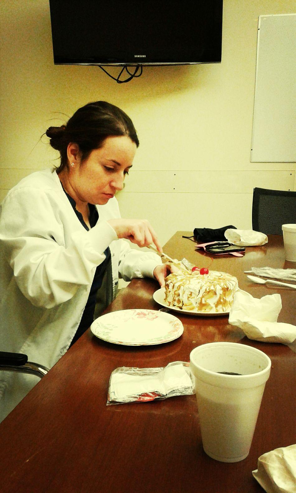 Su pastel de No27 HBDay