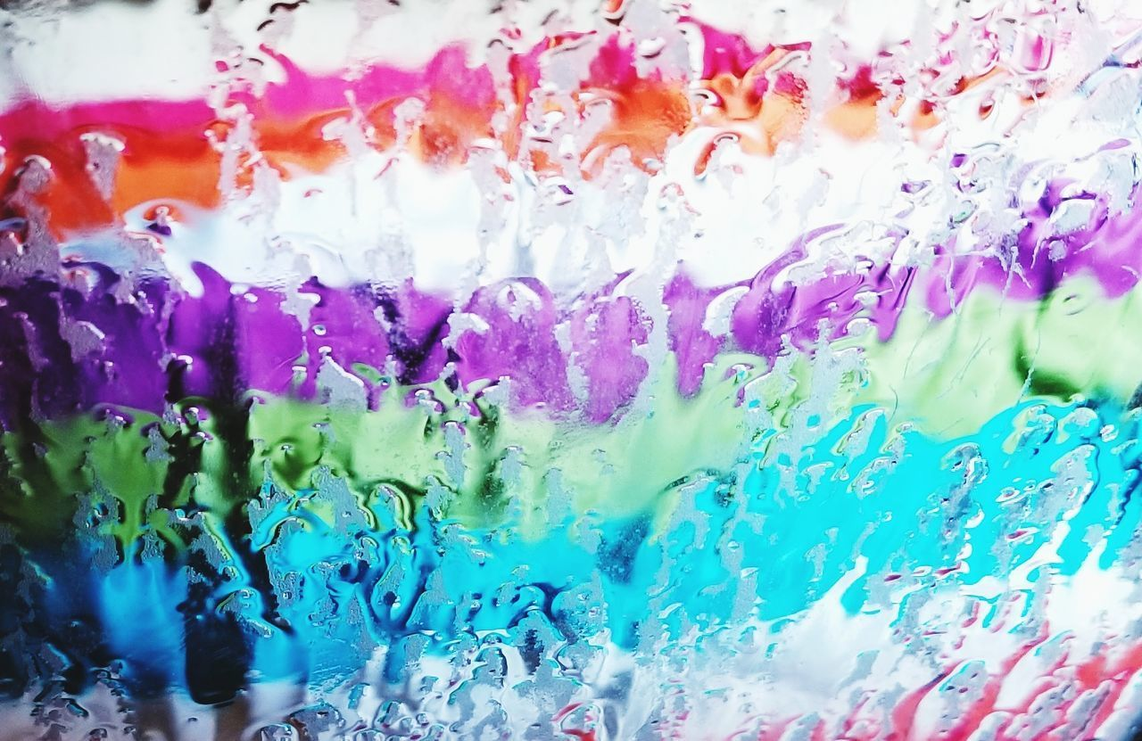 Abstract Abstract Photography Water Colors Bleeding Colors