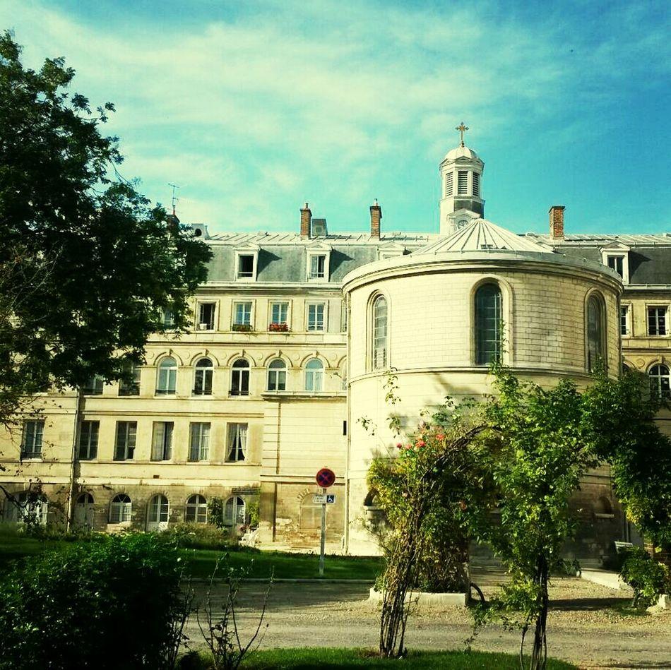Couvent des Soeurs Augustine Church Old Buildings Paris