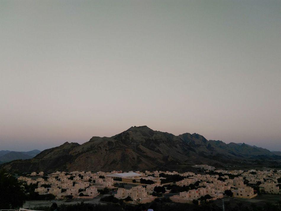 Sunset_captures Mountain View Hatta Dubai , United Arab Emirates
