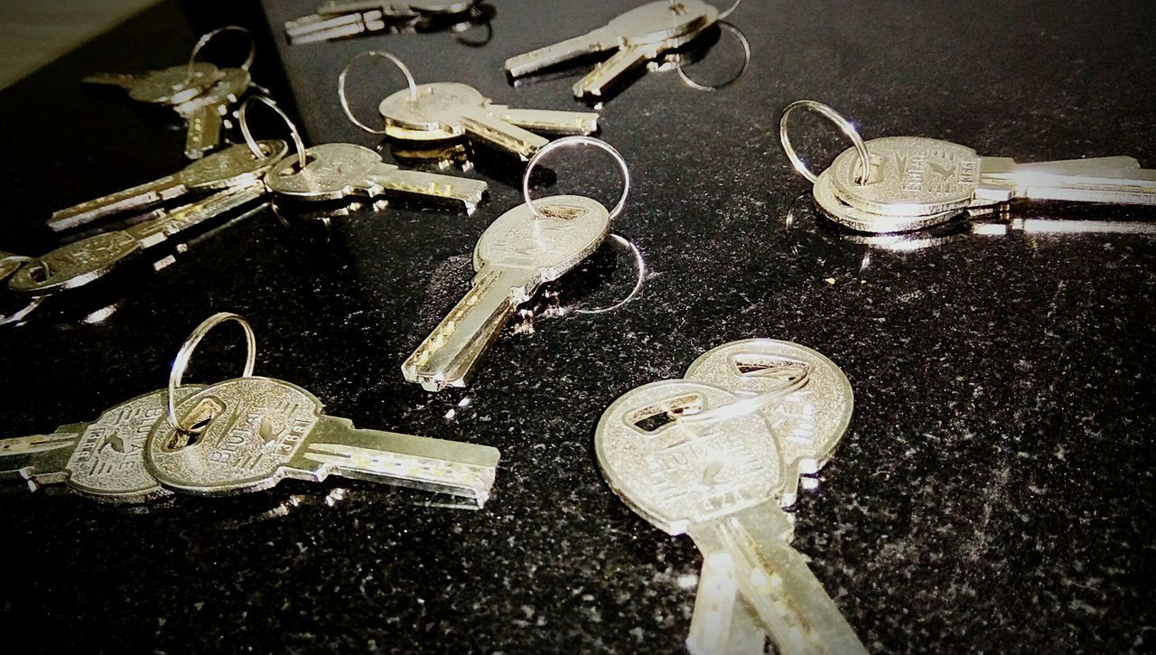 Variation Metal High Angle View Collection Jewelry Choice Close-up No People Indoors  Keys Photography Keys 🔑🔑🔑🔑🔑🔑🔑🔑