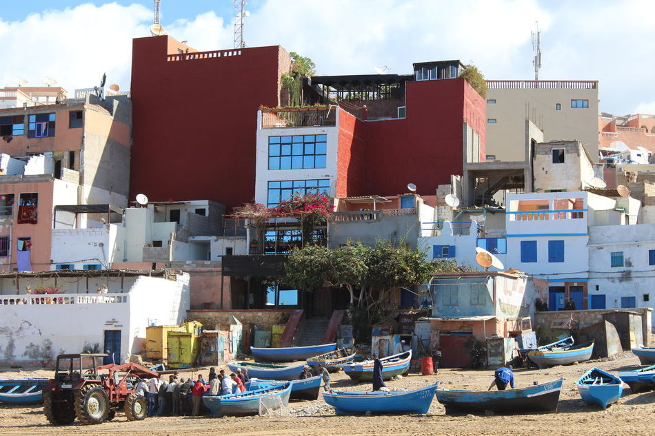 Architecture Beach Boat Coast Colorful Fish Market Fisherman Fishermenvillage First Eyeem Photo