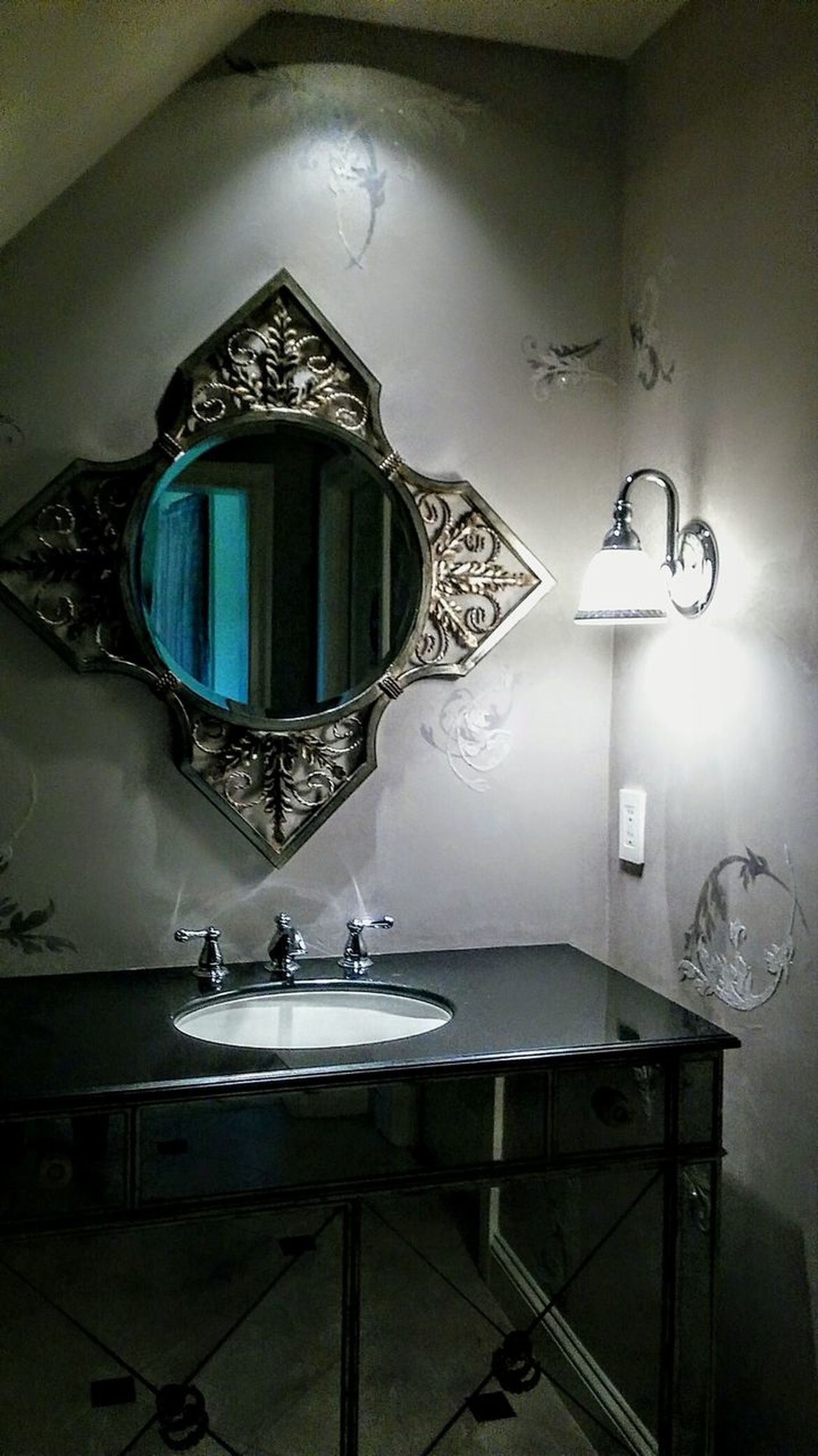 No People Architecture EyeEm Gallery Irwin Collection Home Showcase Interior Domestic Room Beautiful Home Bathroom Picture Mirrored Image Sink And Counter