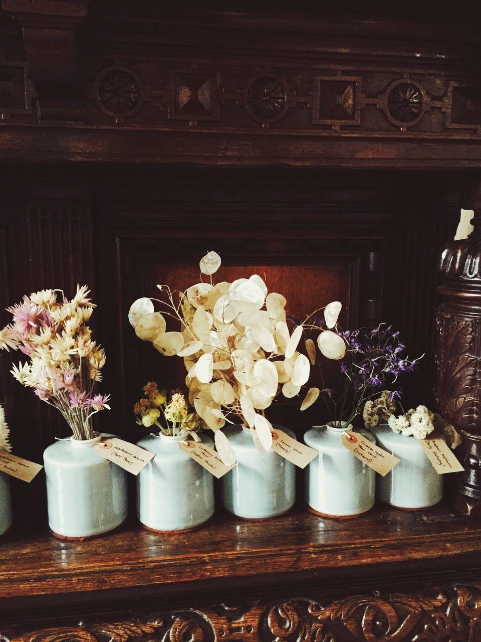 flower, indoors, variation, vase, no people, day, freshness, close-up, flower head