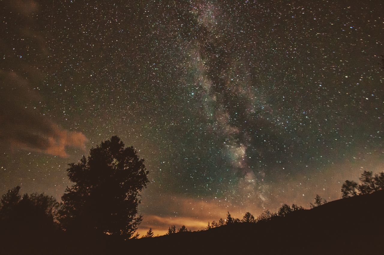 Beautiful stock photos of galaxy, scenics, tranquil scene, star - space, beauty in nature