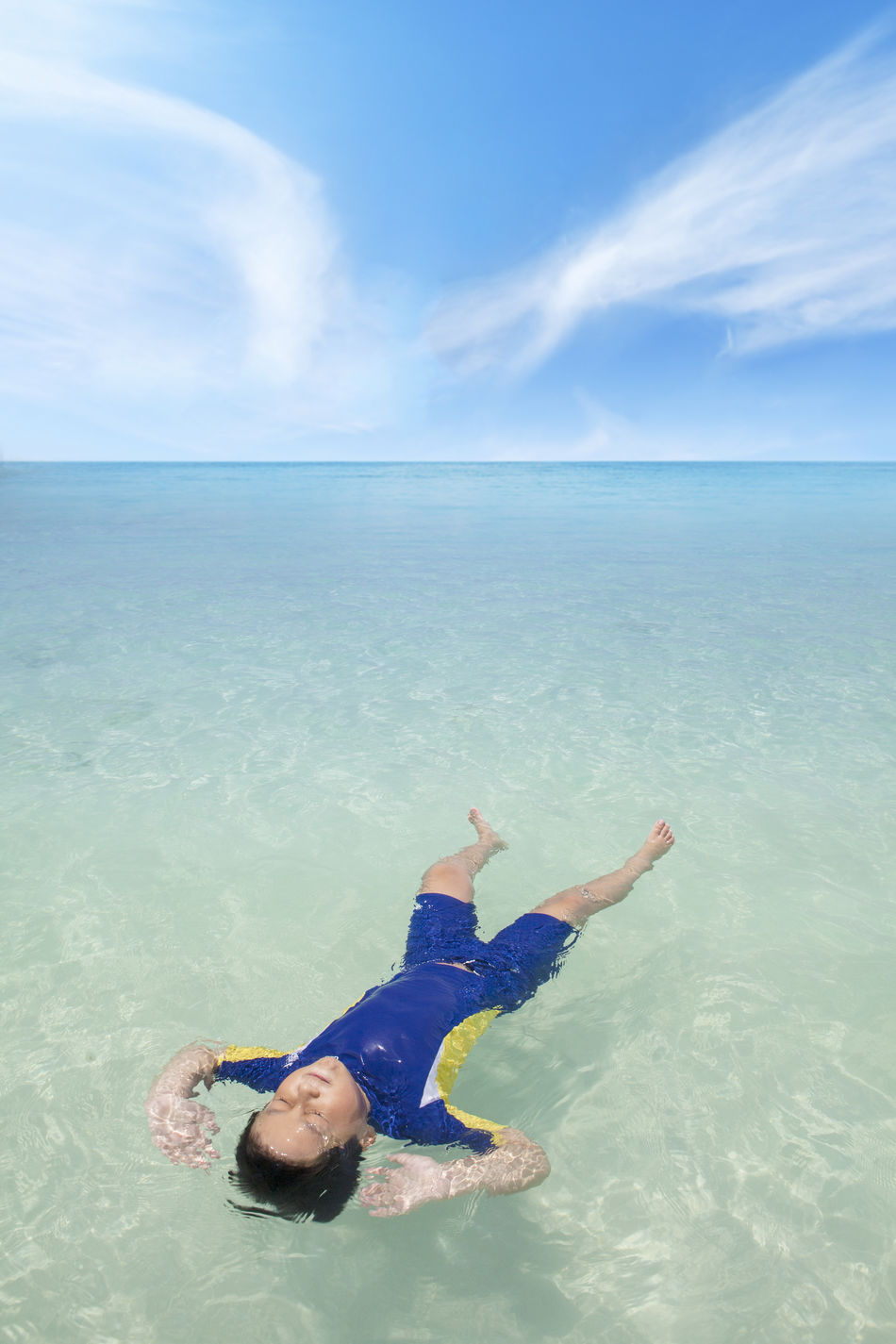 Beautiful stock photos of schwimmen,  8-9 Years,  Adult,  Arms Raised,  Beach