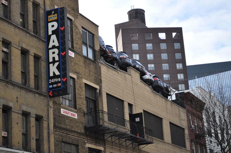 Automobile Car Garage Parking Parking Garage Sign