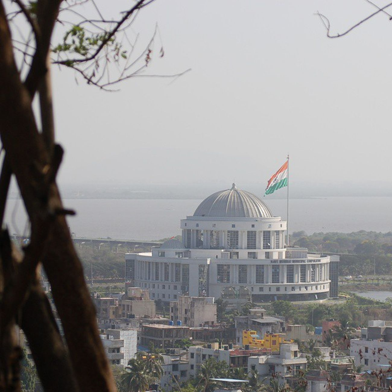 DSLR's Day Out - View of NMMC atop Parsik Hills. Photography DSLR Nikond50 Focus Parsikhill ClintonRodriguesPhotography