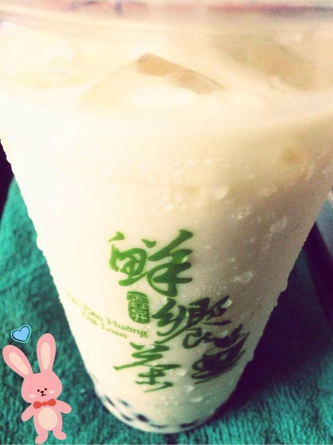 정말 달콤해요~~~ Milktea for Busyday Fresh Tea Honey ❤ Taiwanese Food