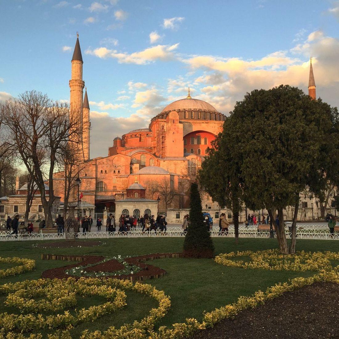 Вечерний свет Landscape Istanbul Turkey IPhone Relaxing Architecture AjaSofija Monochrome Blackandwhite