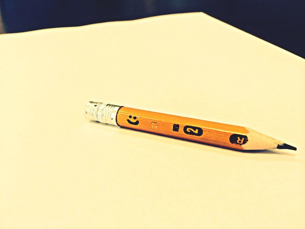 Stay positive! At School Pencil Stay Positive Smile