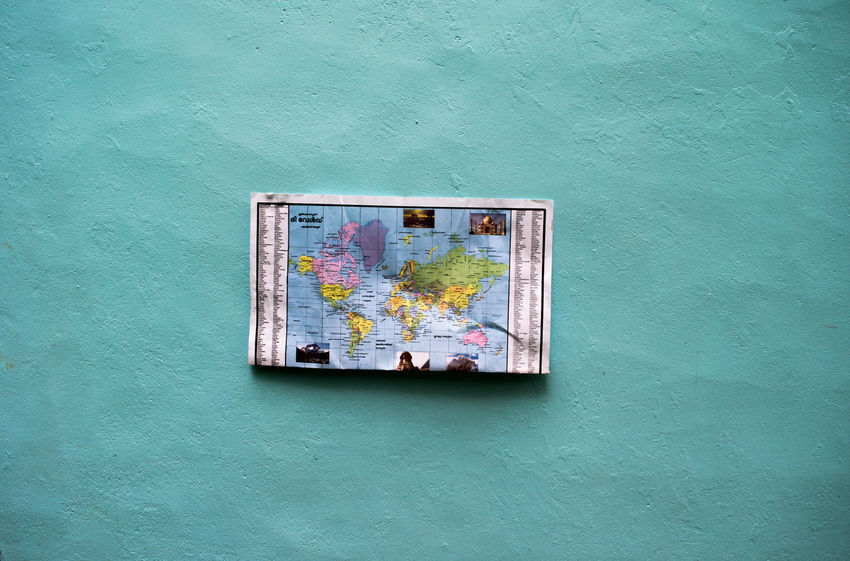 No People Multi Colored Indoors  Close-up Day World Map World Map Exploring World Map Background World Map On Floor World Map On Ceilling World Maps World Map On Glass World Map Politic World Map 1493 Map On The Floor Blue Blue Sky Blue Wave