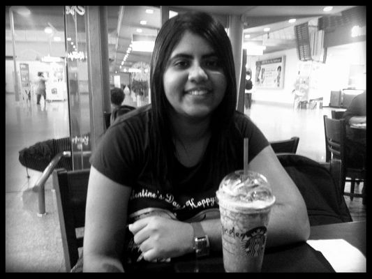 Hanging out at Starbucks by Tajinder Kaur