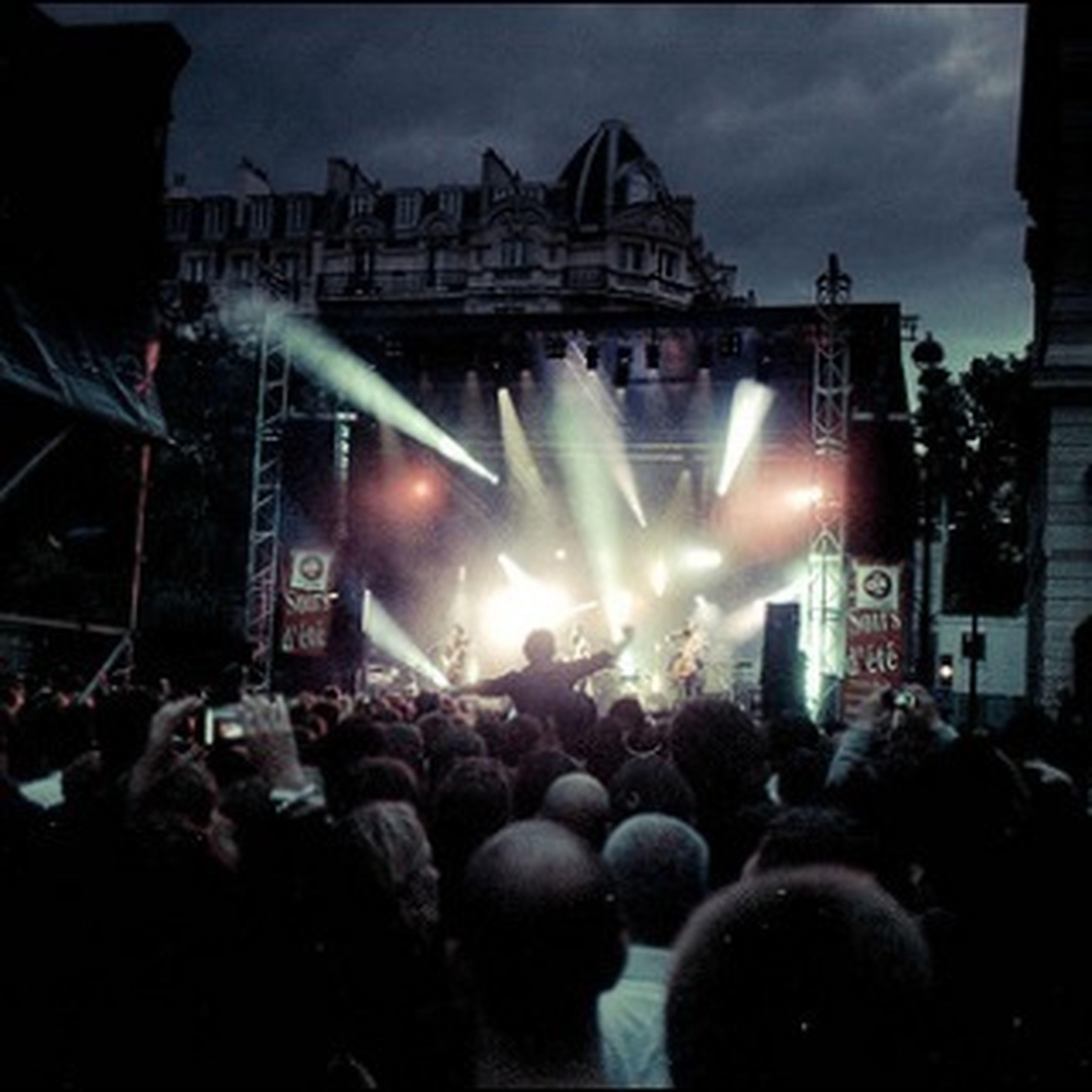 On Fire At Soirs D'été Festival