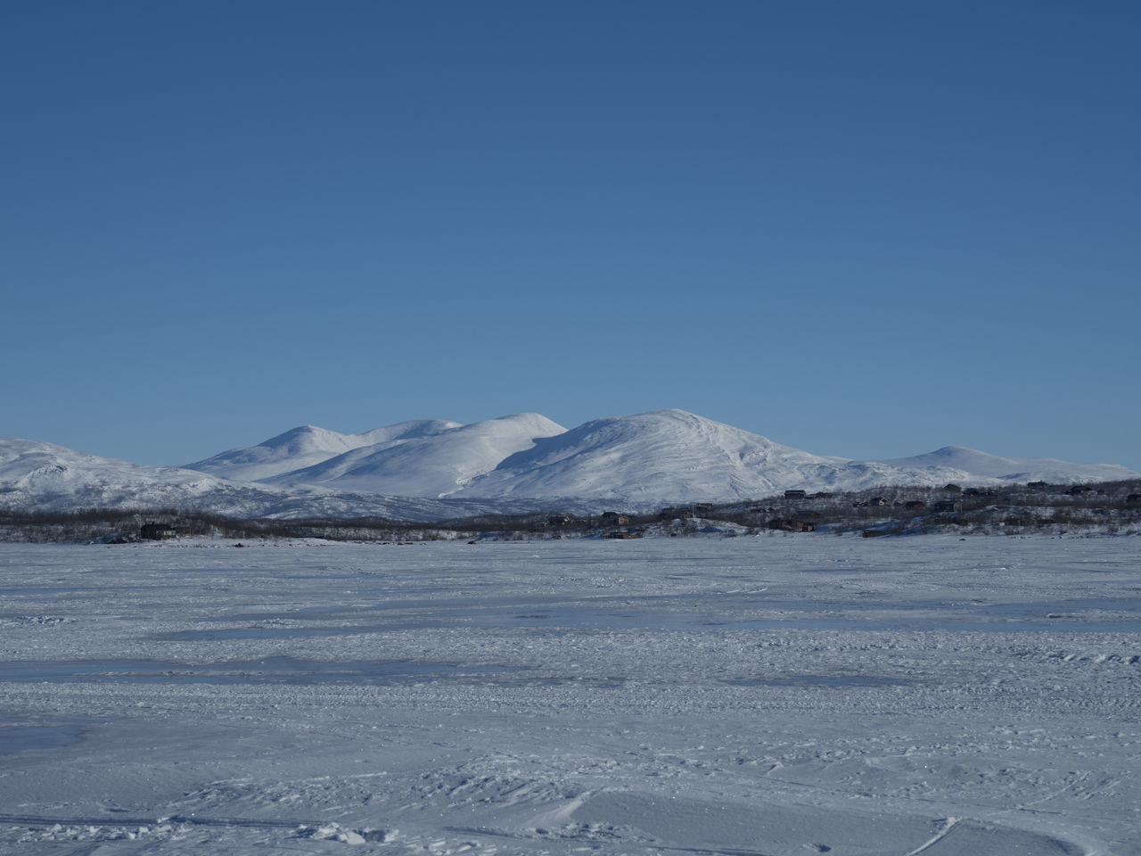 Abisko Beauty In Nature Day FootPrint Frozen Lake Icicles Mountains Nature No People Outdoors Snow Winter