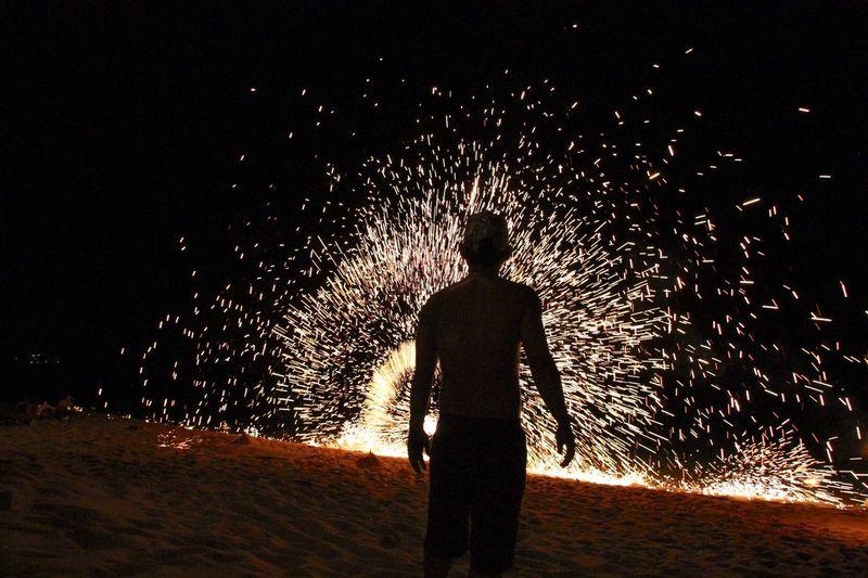 Fire starter Real People Illuminated