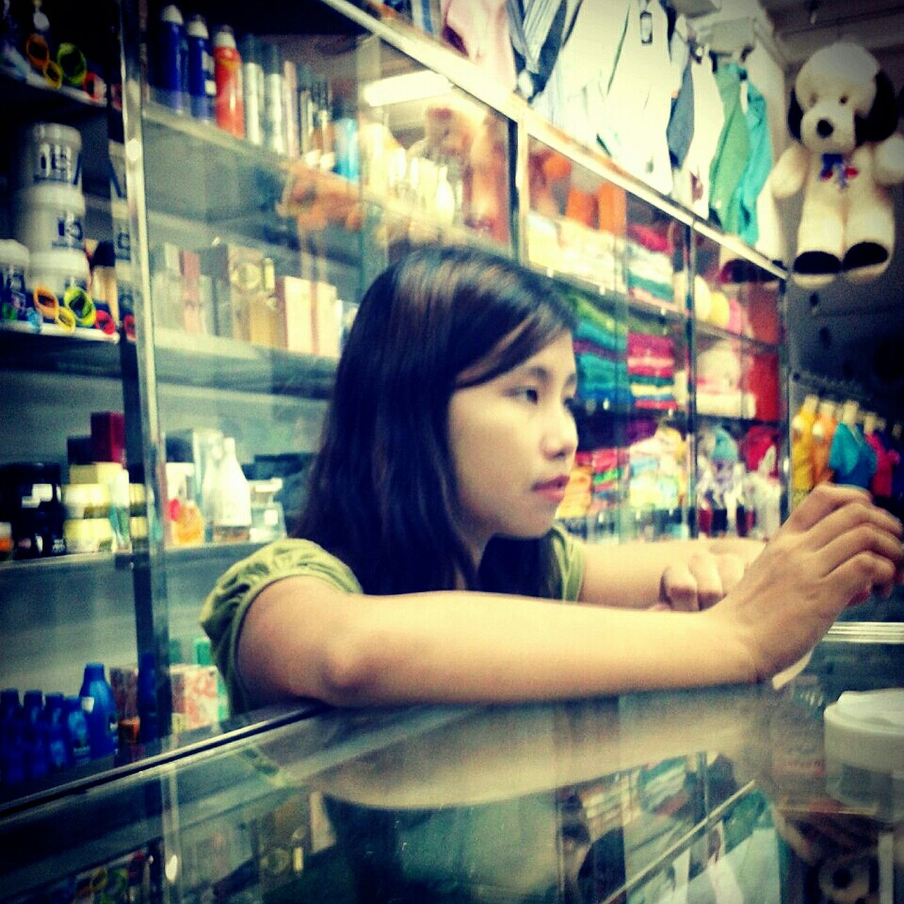 Salesgirl, Yangon, Myanmar Life Daily Life