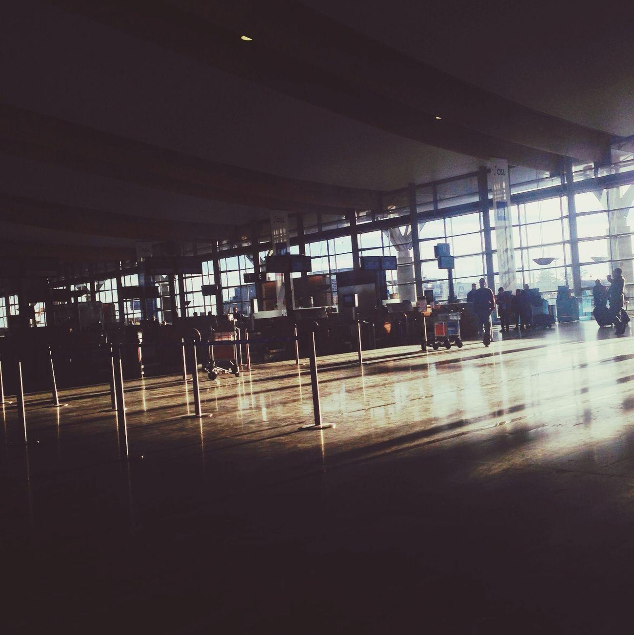 Gardermoen Airport On The Run