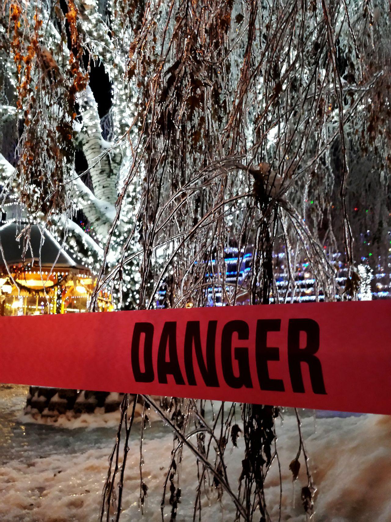 It didn't seem dangerous. Leavenworth Danger Ice Deepfreeze Night Lights Night Photography Trees Winter Wonderland Winter Trees The Photojournalist - 2015 EyeEm Awards
