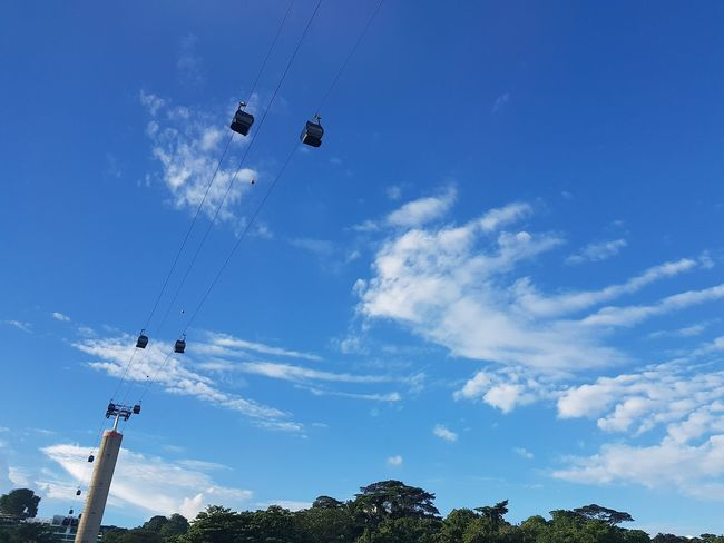 Cablecars Mount Faber Singapore