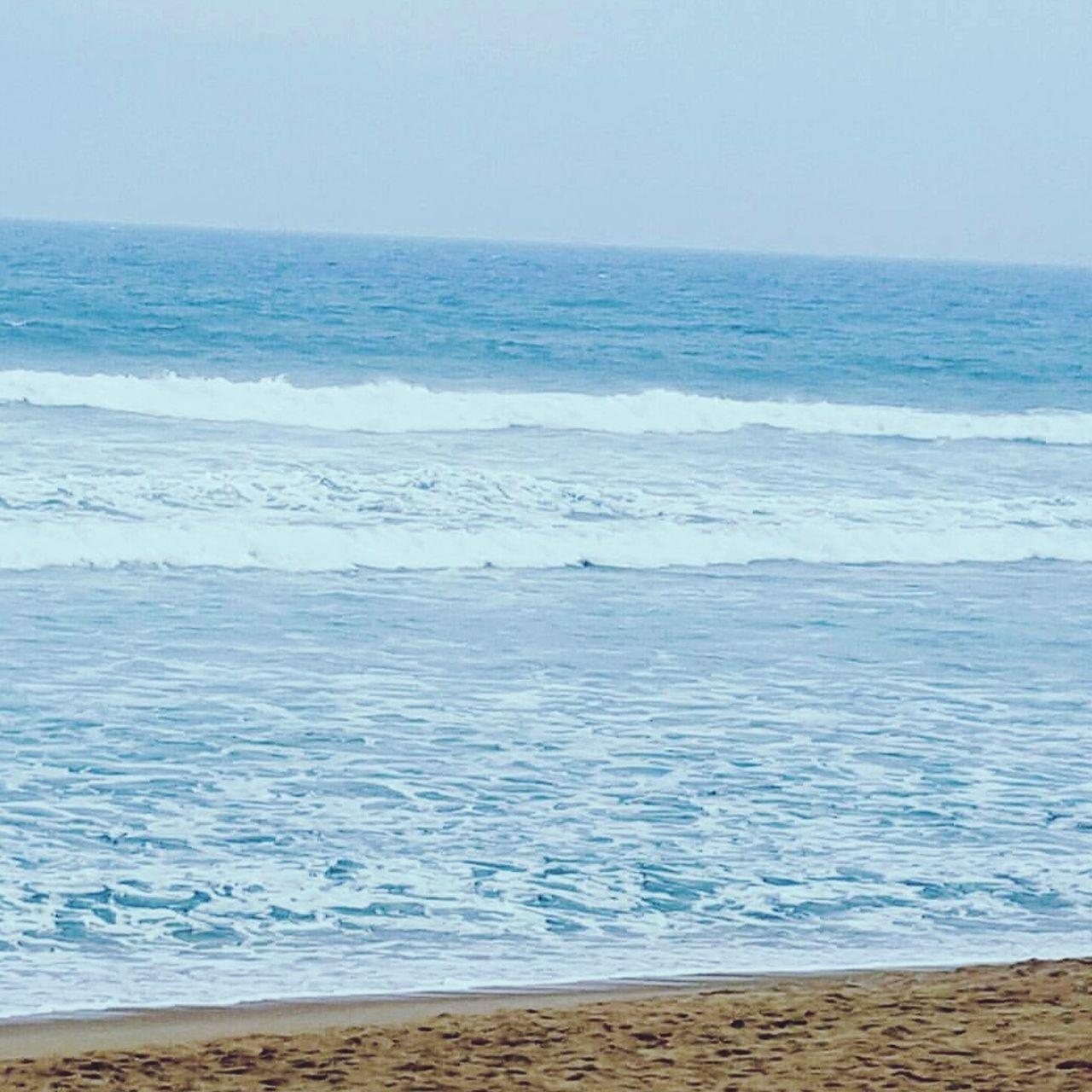 EyeEmNewHere Sea Beach Water Horizon Over Water Sand Wave Outdoors Nature Beauty In Nature Ocean ViewBeach Please Seashore Ocean Ocean Life Beach Life
