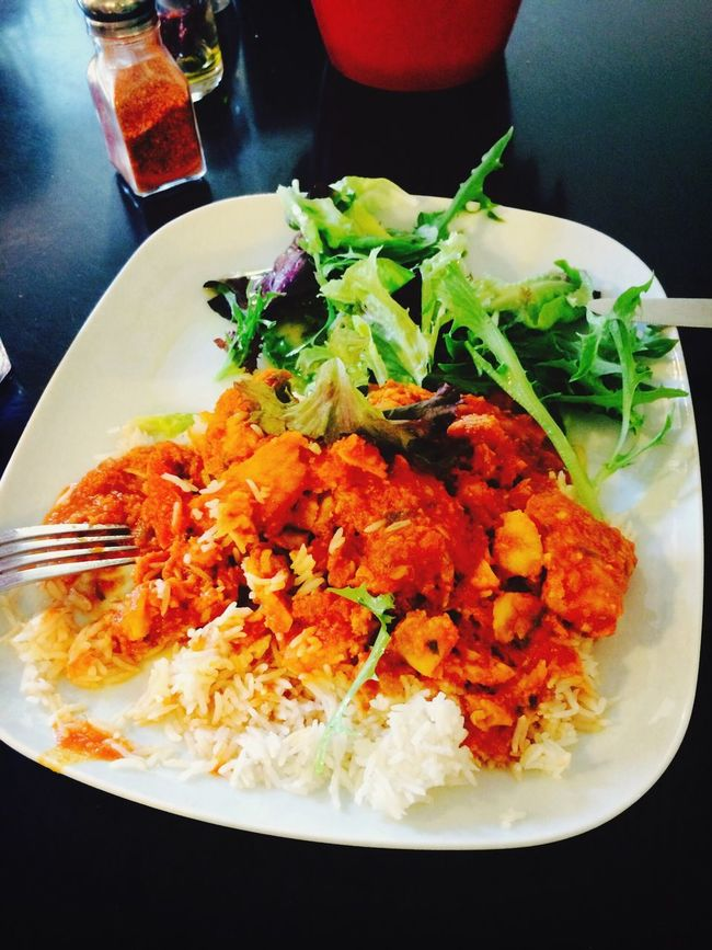 Enjoying A Meal fish with kari sous☺️☺️☺️