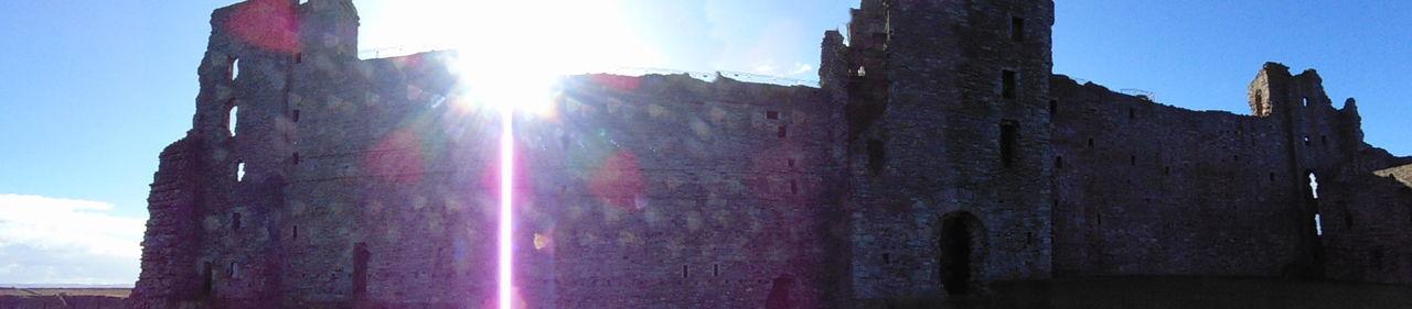 Castle History Outdoors Scotland Colour Landscape Contrast Leading Lines Framing Tantallon Castle Panorama