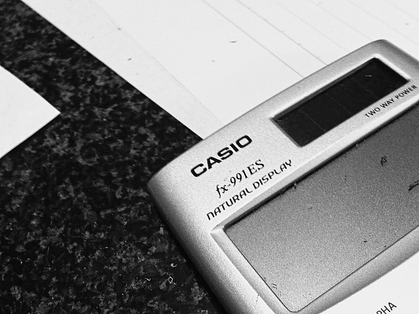 Paper View Time To Put This Calculator Into Action First Eyeem Photo