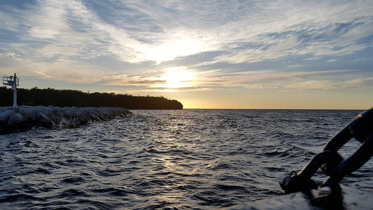 Wisconsin Life On A Boat Washington Island Door County, Wisconsin Lake Michigan Travel Water Enjoying The Sun On The Way Adventure Club Summer 2016