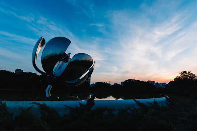 Buenos Aires Buenosaires Cloud Cloud - Sky Floralis Generica Lifestyle Lifestyles Monument Nature Outdoors Sky Travel Travel Destinations Traveling Vacation Vacations