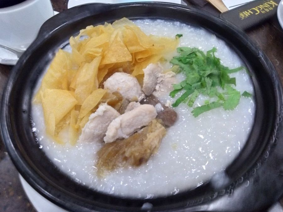 Congee Food Breakfast Meat Healthy Eating Ready-to-eat No People Asianfood Intestines