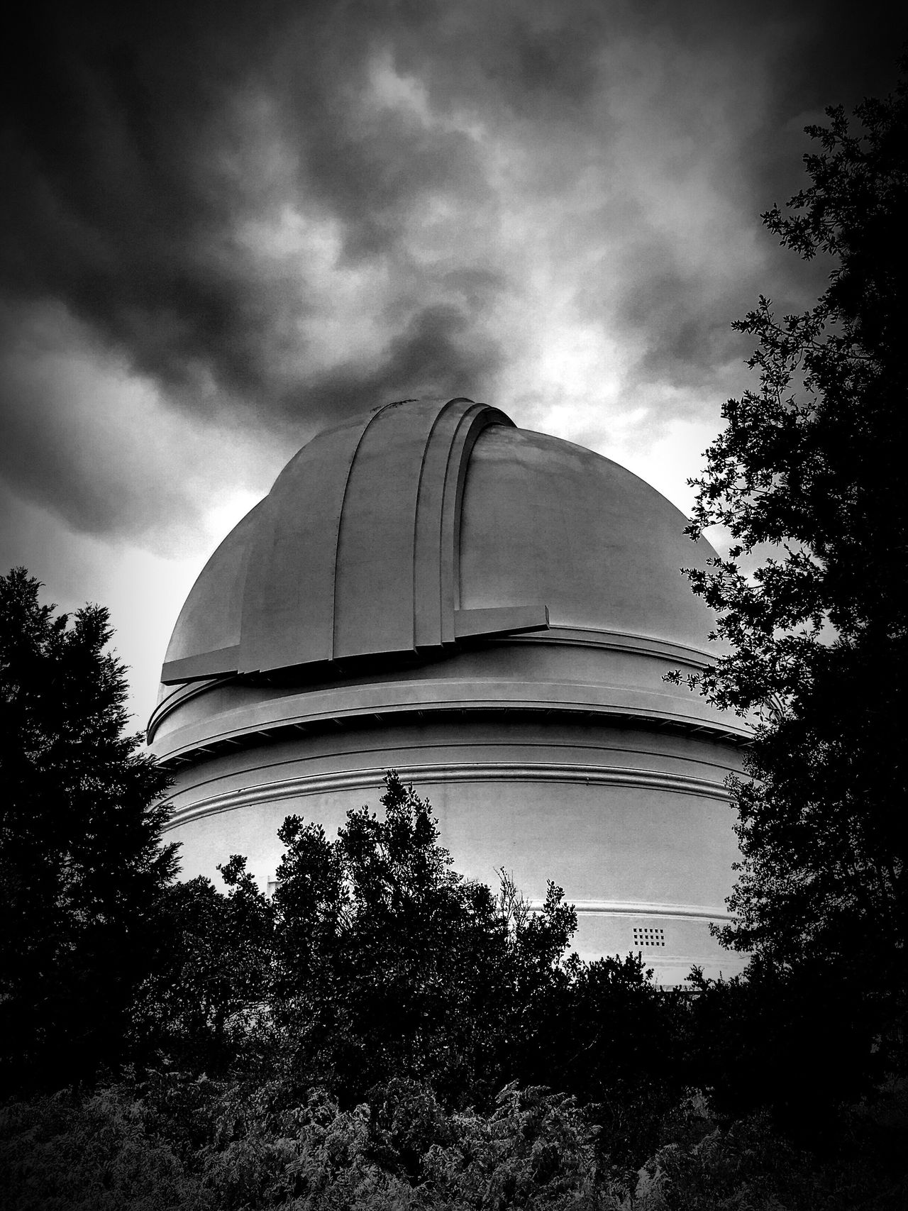 Palomar Palomar Observatory Blackandwhite Monochrome Mountain Melancholic Landscapes Sky