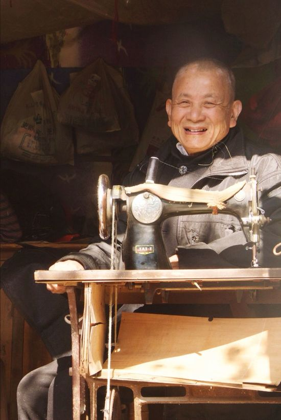The Places I've Been Today Old Smile Strangers Enjoying The Sun Relaxing Peace China