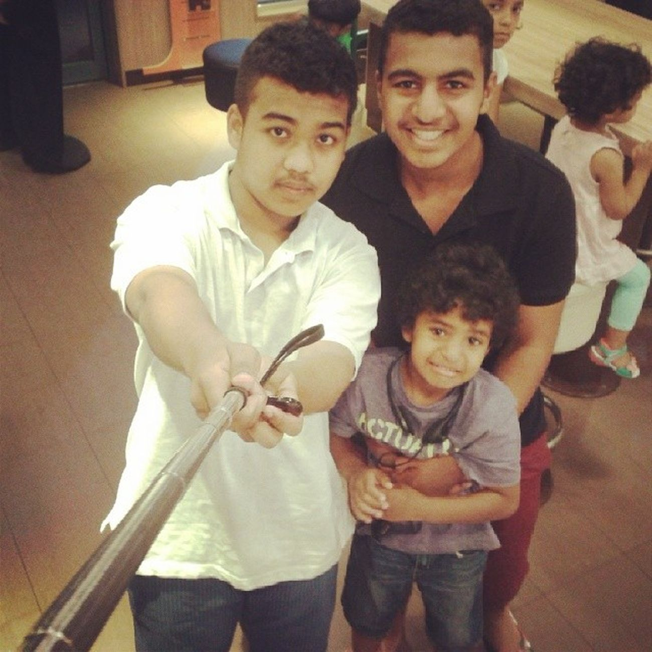 Selfistick Mac @muhanned2 & @waqasx