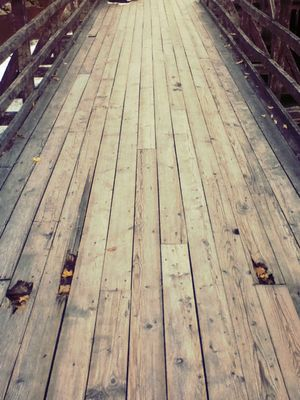 Wooden bridge by vesper